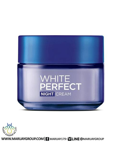 Body Shop Drop Of Light Day Cream Review: L'OREAL WHITE PERFECT NIGHT CREAM 50ML.